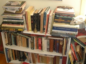 Too many books or too few shelves?