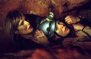 These ladies weren't claustrophobic before they got stuck in a cave.