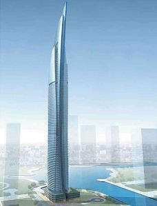 Damac Heights, Dubai, scheduled for 2016 completion.