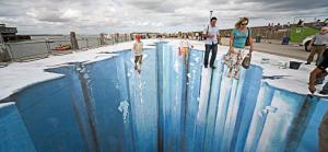 Street painting by the awesome artist, Edgar Muller.