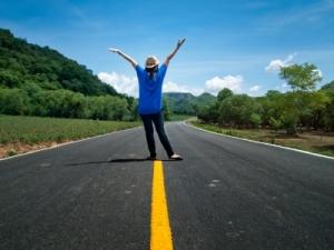 road alone