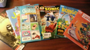 Just a few of today's free kid-friendly comics.