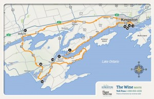 kingston picton map