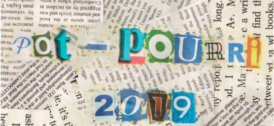 Pot-pourri 2019 cover