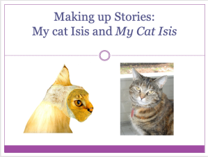 """Making up Stories"" by Catherine Austen: slide show"
