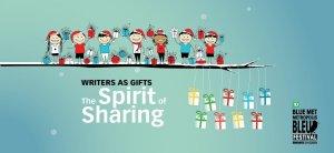 Blue Met Writers as Gifts banner